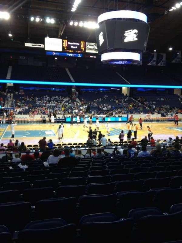 Allstate Arena, secção: 103, fila: N, lugar: 23