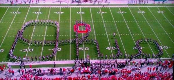 Ohio Stadium, secção: 21C