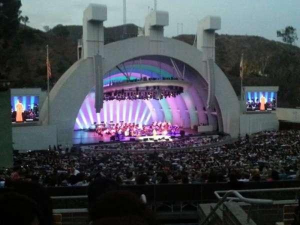 Hollywood Bowl, secção: K2, fila: 6, lugar: 101