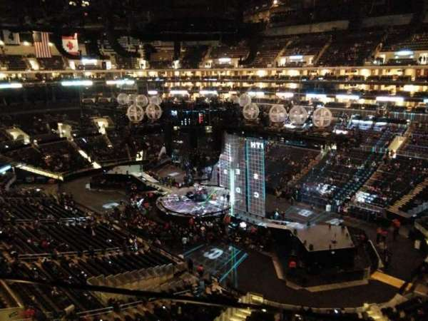 Staples Center, secção: 316, fila: 1, lugar: 1