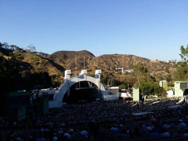 Hollywood Bowl, secção: U2, fila: 2, lugar: 2
