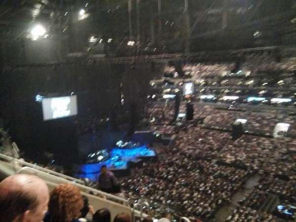 Staples Center, secção: 316, fila: 8, lugar: 20