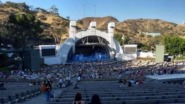 Hollywood Bowl, secção: J2, fila: 21, lugar: 43