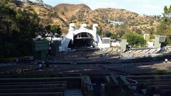 Hollywood Bowl, secção: U3, fila: 9, lugar: 1
