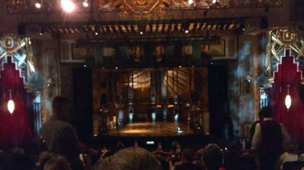 Hollywood Pantages Theatre, secção: Mezzanine C, fila: F, lugar: 102