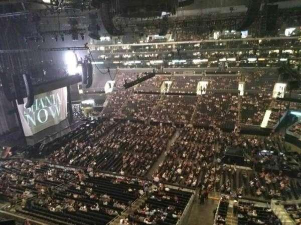 Staples Center, secção: 317, fila: 2, lugar: 1