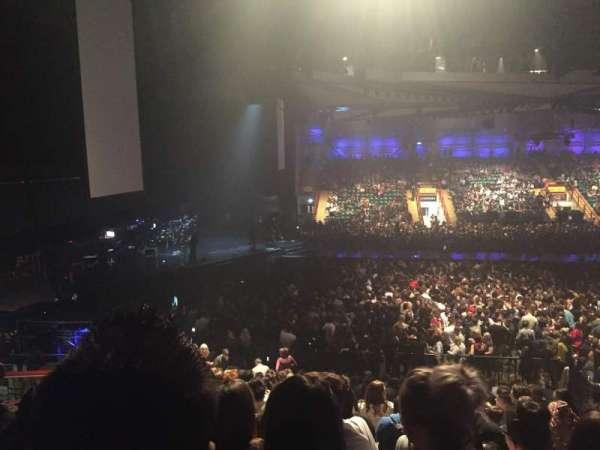 Utilita Arena, secção: 218, fila: U, lugar: 434