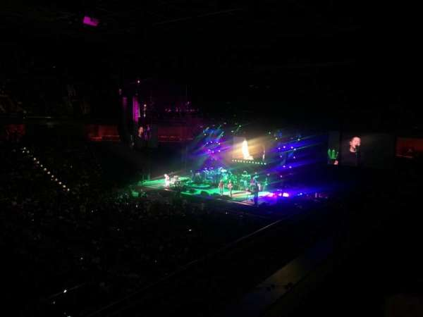 Mohegan Sun Arena, secção: 108, fila: A, lugar: 4