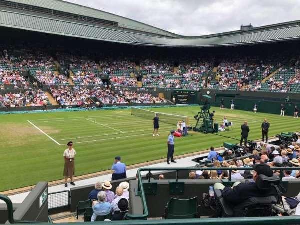 Wimbledon, Court No. 1, secção: 32, fila: 2, lugar: 5