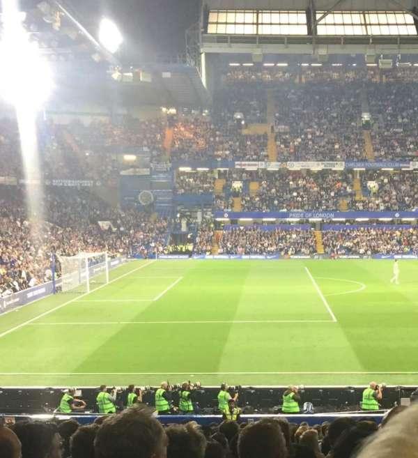 Stamford Bridge , secção: West stand lower, fila: 31, lugar: 190