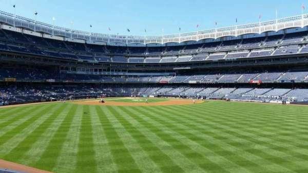 Yankee Stadium, secção: 201, fila: 1