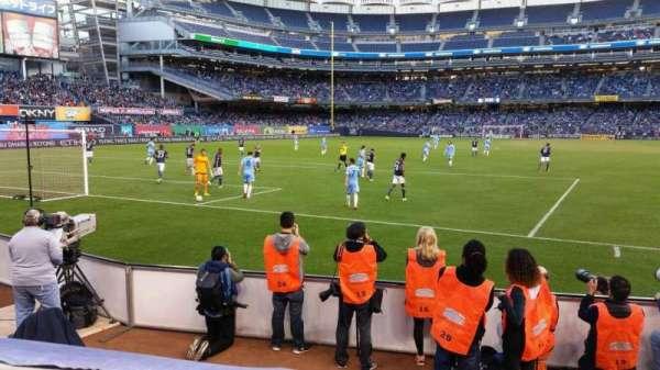 Yankee Stadium, secção: 134, fila: 1, lugar: 2