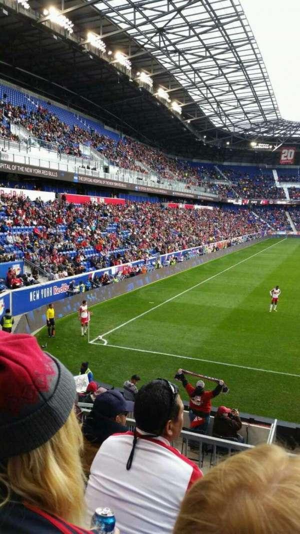 Red Bull Arena (New Jersey), secção: 120, fila: 15