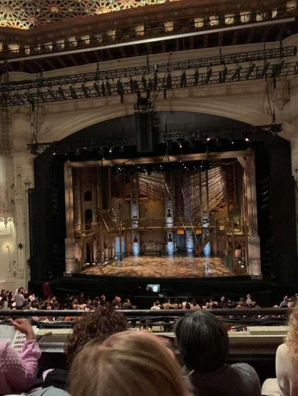Orpheum Theatre (San Francisco), secção: Loge RC, fila: C, lugar: 112