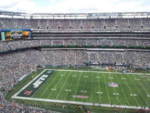 MetLife Stadium, secção: 339, fila: 5, lugar: 18
