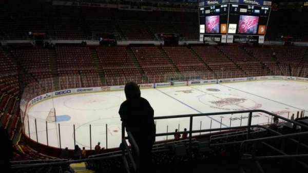 Joe Louis Arena, secção: 225A, fila: 5, lugar: 2