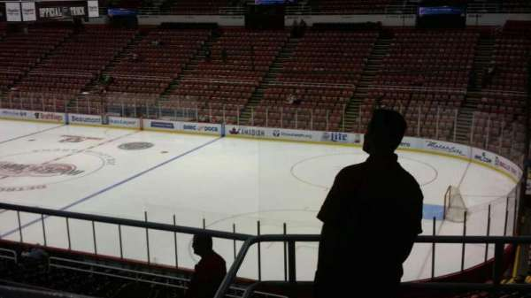 Joe Louis Arena, secção: 218B, fila: 5, lugar: 8