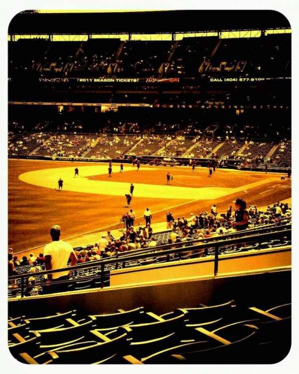 Turner Field, secção: 228, fila: 8, lugar: 4