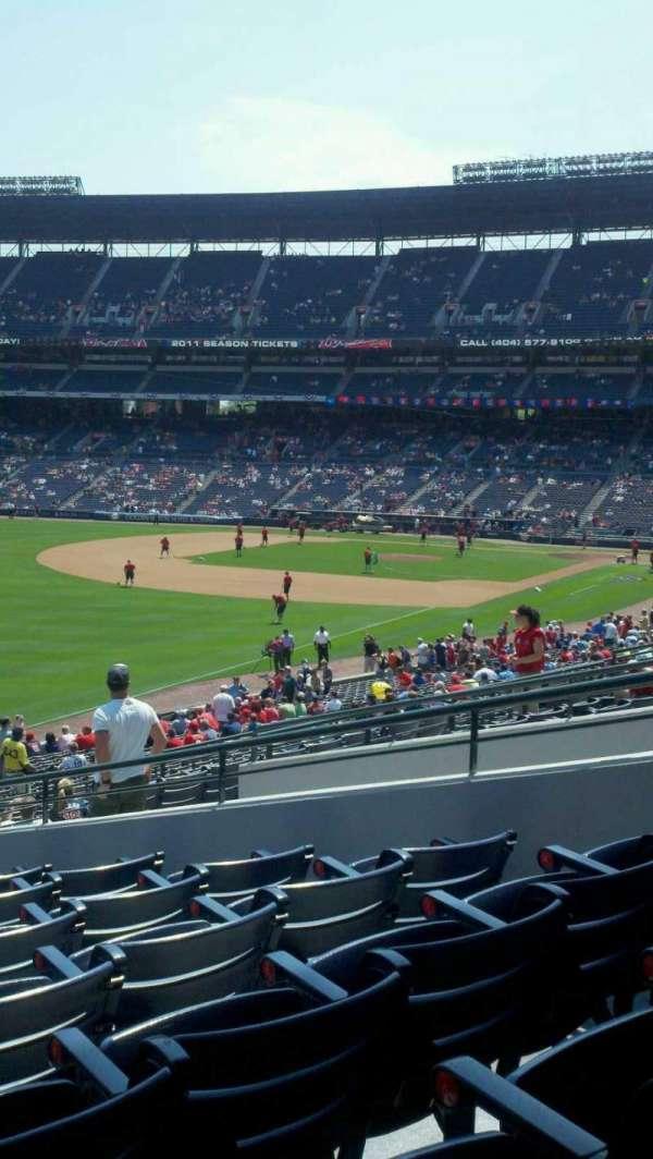 Turner Field, secção: 228, fila: 4, lugar: 8