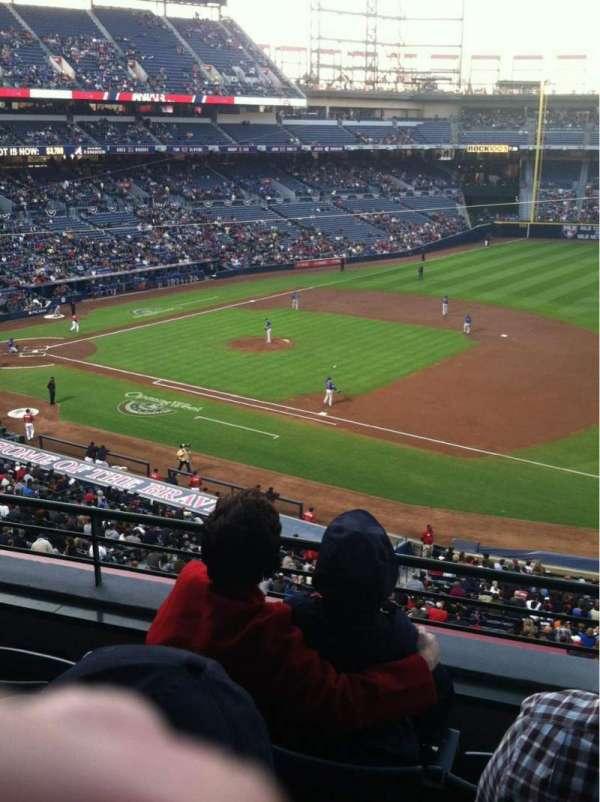 Turner Field, secção: 317, fila: 4, lugar: 8
