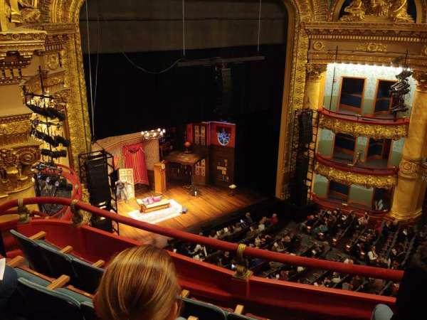 Emerson Colonial Theatre, secção: Balcony, fila: D, lugar: 25