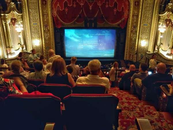 Providence Performing Arts Center, secção: Balcony 1, fila: H, lugar: 101