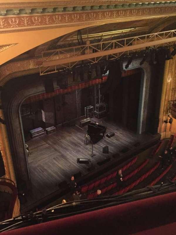 Walter Kerr Theatre, secção: Balcony Left, fila: A, lugar: 41