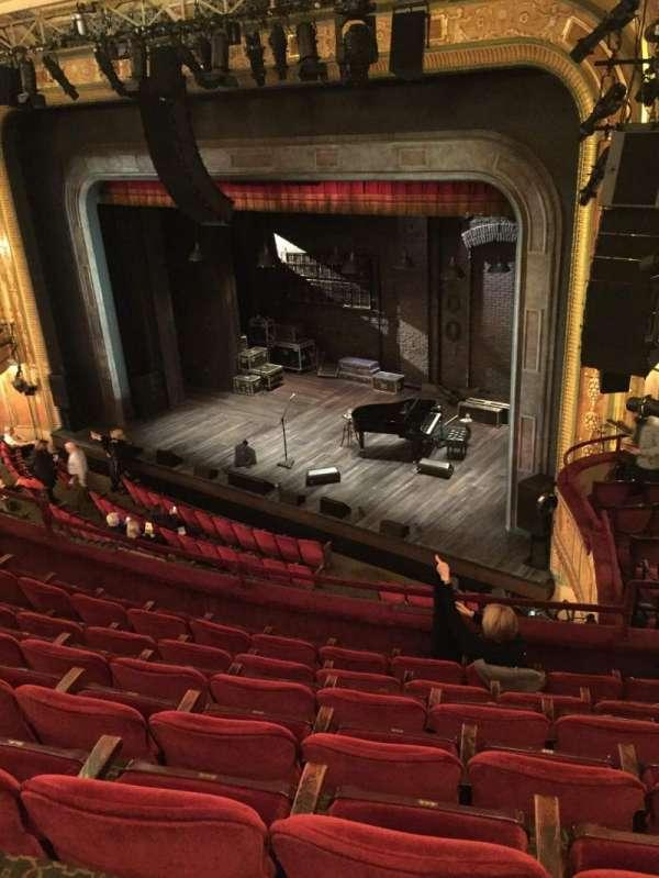 Walter Kerr Theatre, secção: Mezzanine Right, fila: G, lugar: 26