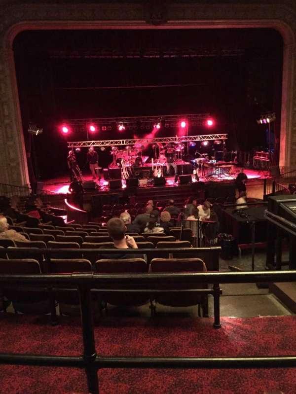 Scottish Rite Auditorium, secção: Mezzanine Left Center, fila: J, lugar: 109