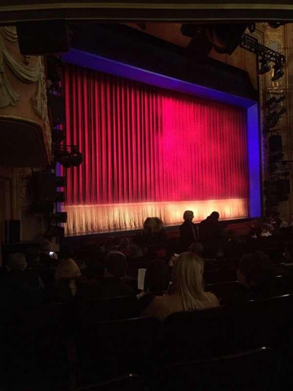 Longacre Theatre, secção: Orchestra L, fila: N, lugar: 20