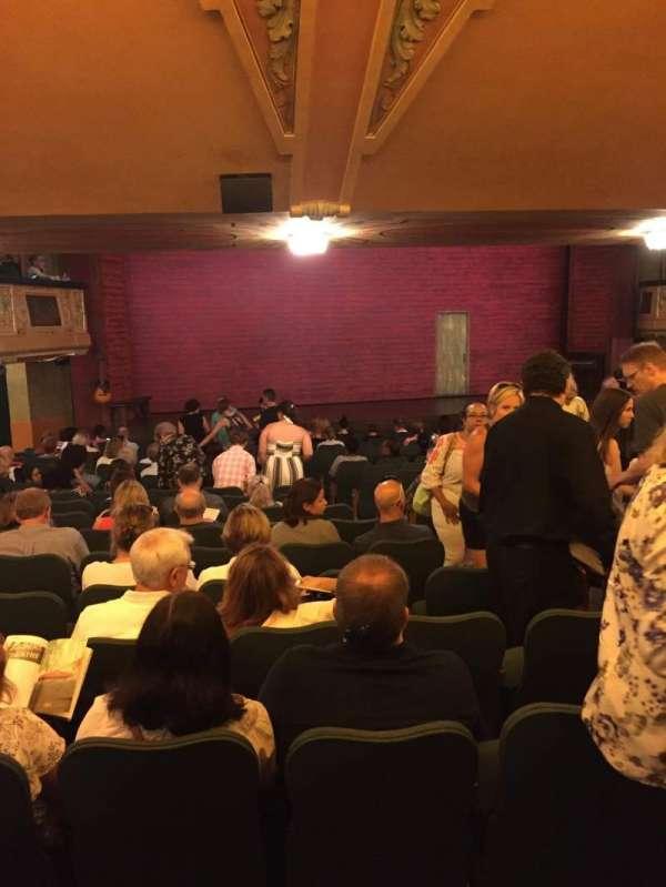 Shubert Theatre, secção: Standing Room, lugar: 7