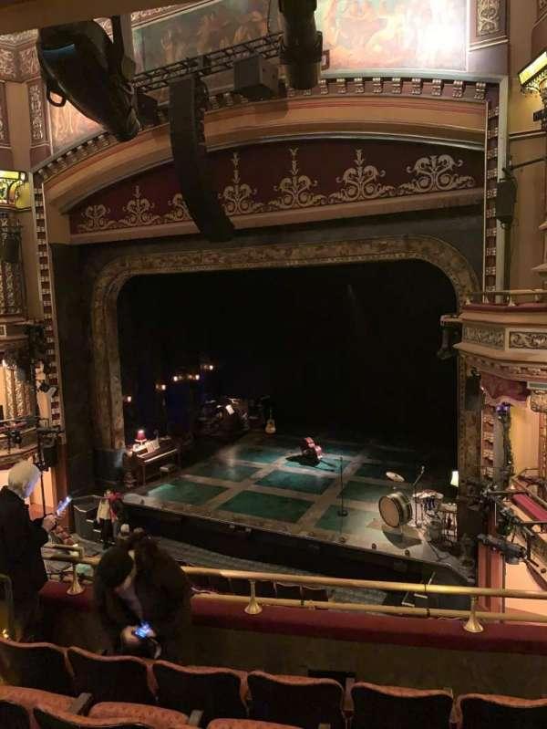 Belasco Theatre, secção: Mezzanine R, fila: E, lugar: 12