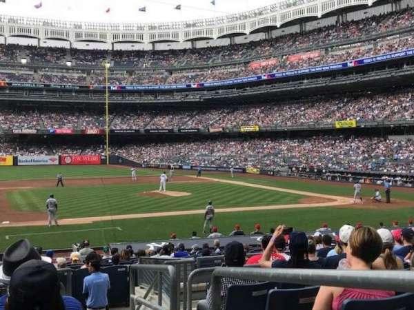 Yankee Stadium, secção: Field MVP 125, fila: 10, lugar: 1