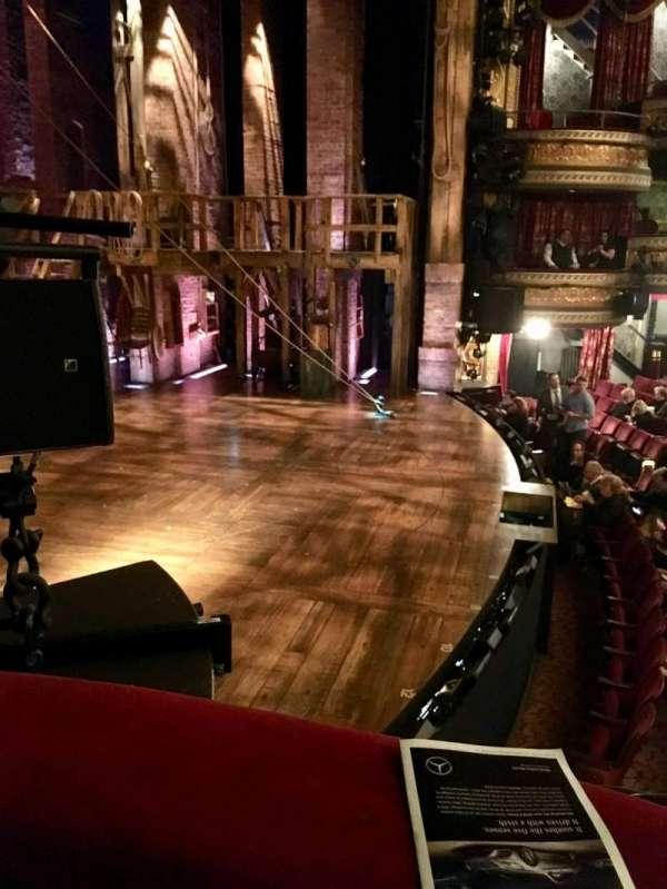 Richard Rodgers Theatre, secção: Box A, fila: 1, lugar: 1