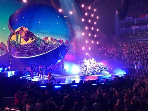 The O2 Arena, secção: 101, fila: G, lugar: 35