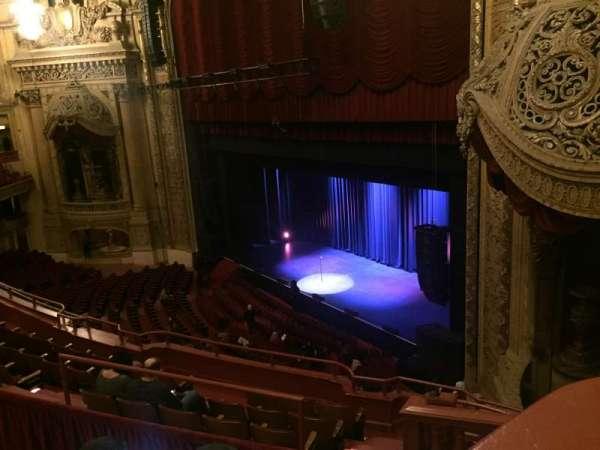 Chicago Theatre, secção: Balcony Box 11, fila: A, lugar: 20