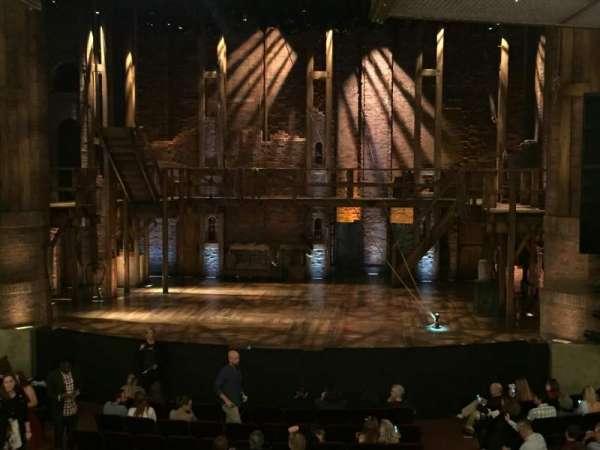 CIBC Theatre, secção: Dress Circle C, fila: A, lugar: 210