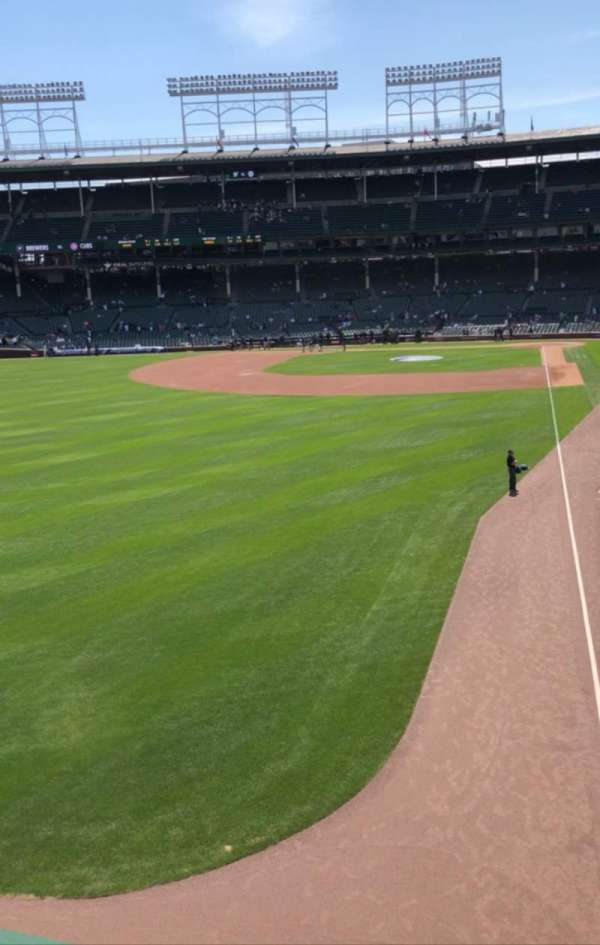 Wrigley Field, secção: Terrace, fila: Standing Room, lugar: Left Filed