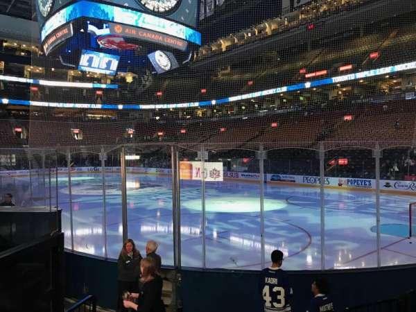 Scotiabank Arena, secção: 115, fila: 10, lugar: 11