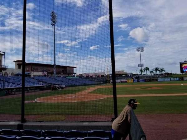 BayCare Ballpark, secção: 108, fila: 5, lugar: 1