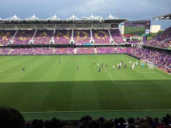 Exploria Stadium, secção: 112, fila: M, lugar: 14