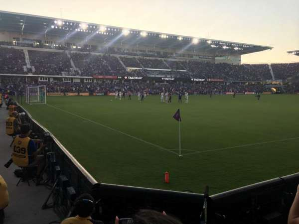 Exploria Stadium, secção: 1, fila: C, lugar: 12