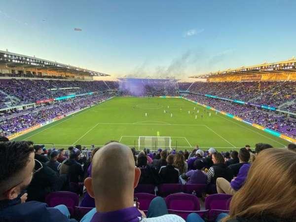 Exploria Stadium, secção: 104, fila: R, lugar: 19
