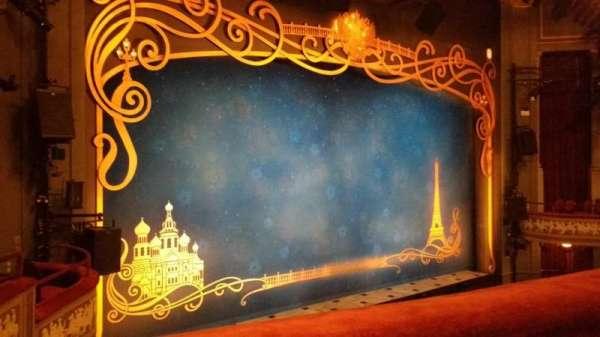 Broadhurst Theatre, secção: Mezzanine L, fila: A, lugar: 17