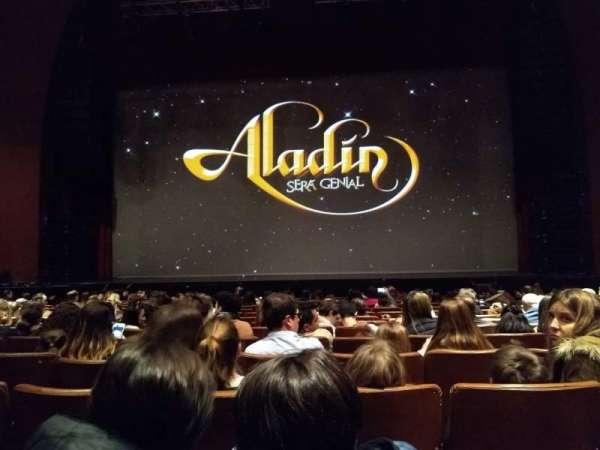 Teatro Gran Rex, secção: Platea, fila: 14, lugar: C14