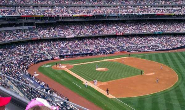 Yankee Stadium, secção: 311, fila: 2, lugar: 5
