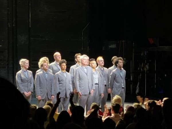 Hudson Theatre, secção: Orch, fila: Q, lugar: 5