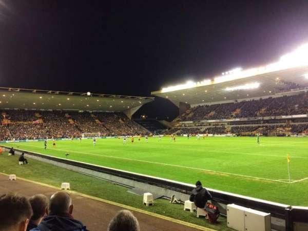 Molineux Stadium, secção: JL2, fila: E