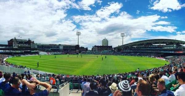 Kia Oval, secção: JM Finn Stand 20, fila: 22, lugar: 655