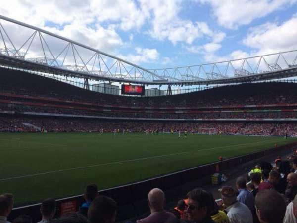 Emirates Stadium, secção: 20, fila: 6, lugar: 628